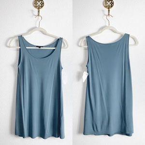 NWT Eileen Fisher 100% silk blouse XS